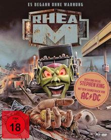 Rhea M - Es begann ohne Warnung (Limited Mediabook, 2 Blu-ray's+DVD, Cover A) (1986) [FSK 18] [Blu-ray]