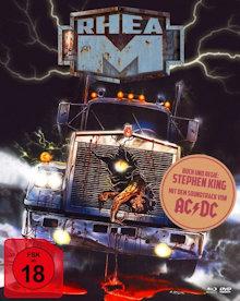Rhea M - Es begann ohne Warnung (Limited Mediabook, 2 Blu-ray's+DVD, Cover B) (1986) [FSK 18] [Blu-ray]