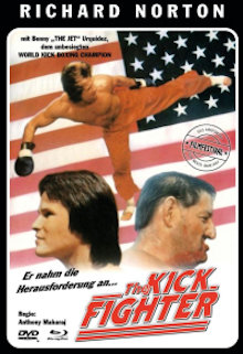 The Kick Fighter (Limited Mediabook, Blu-ray+DVD, Cover C) (1989) [FSK 18] [Blu-ray]