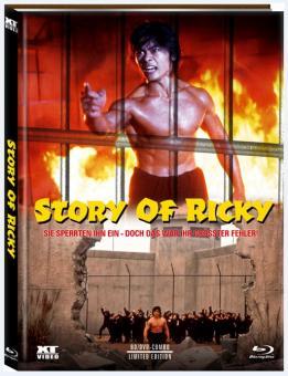 Story of Ricky (Limited Mediabook, Blu-ray+DVD, Cover B) (1991) [FSK 18] [Blu-ray]