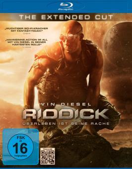 Riddick - Überleben ist seine Rache - Extended Cut (2013) [Blu-ray]