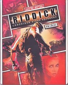 Riddick - Chroniken eines Kriegers (Limited Steelbook) (2004) [Blu-ray]