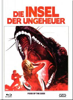 Die Insel der Ungeheuer (Limited Mediabook, Blu-ray+DVD, Cover F) (1976) [Blu-ray]