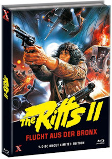 The Riffs 2 - Flucht aus der Bronx (Limited Mediabook, Blu-ray+DVD, Cover B) (1983) [FSK 18] [Blu-ray]