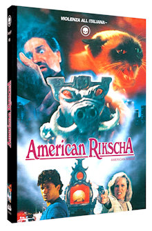 American Rikscha (Limited Mediabook, Blu-ray+DVD, Cover B) (1989) [FSK 18] [Blu-ray]