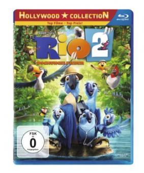 Rio 2 - Dschungelfieber (2014) [Blu-ray]