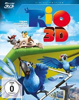 Rio (3D Blu-ray+Blu-ray) (2011) [3D Blu-ray]