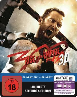 300: Rise of an Empire (3D Blu-ray+Blu-ray, Steelbook) (2014) [FSK 18] [3D Blu-ray]