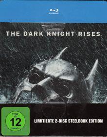 The Dark Knight Rises (Limitiertes Steelbook) (2012) [Blu-Ray]