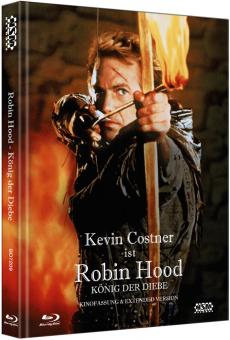 Robin Hood - König der Diebe (Limited Mediabook, Kinofassung+Director's Cut, 2 Discs) (1991) [Blu-ray]
