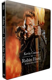 Robin Hood - König der Diebe (Limited Steelbook, Kinofassung+Director's Cut, 2 Discs) (1991) [Blu-ray]