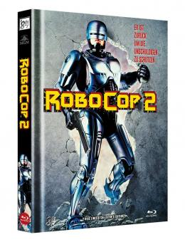 Robocop 2 (Limited Mediabook, Blu-ray+DVD, Cover A) (1990) [FSK 18] [Blu-ray]