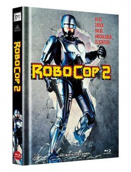 Robocop 2 (Limited Mediabook, Blu-ray+DVD, Cover A) (1990) [FSK 18] [Blu-ray]