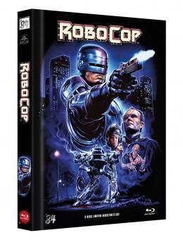 Robocop - Directors Cut (Limited Mediabook, Blu-ray+DVD, Cover D) (1987) [FSK 18] [Blu-ray]