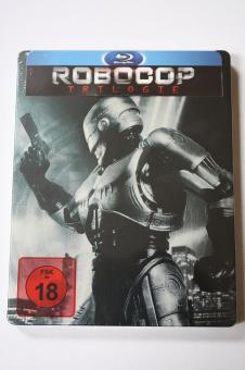 Robocop 1-3 (Trilogie, Uncut) (Limited Steelbook) [FSK 18] [Blu-ray]