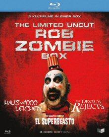 Rob Zombie Box (Limited Uncut 4 Disc Box) [FSK 18] [Blu-ray]