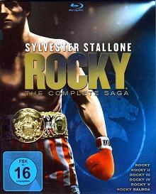 Rocky 1-6 - The Complete Saga (7 Discs) [Blu-ray]