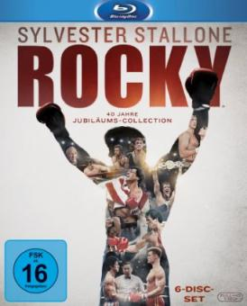 Rocky 1-6 - The Complete Saga (6 Discs) [Blu-ray]