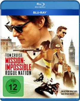 Mission Impossible: Rogue Nation (2015) [Blu-ray] [Gebraucht - Zustand (Sehr Gut)]