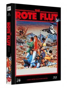 Die Rote Flut (Limited Mediabook, Blu-ray+DVD, Cover C) (1984) [FSK 18] [Blu-ray]