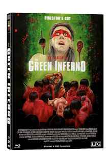 The Green Inferno (Director's Cut) (Limited Mediabook, Blu-ray+DVD, Cover B) (2013) [FSK 18] [Blu-ray]