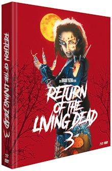 Return of the Living Dead 3 (Limited Mediabook, Blu-ray+2 DVDs) (1993) [FSK 18] [Blu-ray]