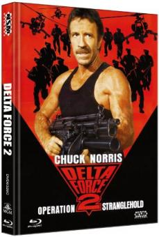 Delta Force 2 (Limited Mediabook, Blu-ray+DVD, Cover C) (1990) [FSK 18] [Blu-ray]