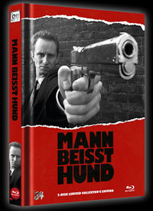 Mann beisst Hund (Limited Mediabook, Blu-ray+DVD, Cover B) (1992) [FSK 18] [Blu-ray]