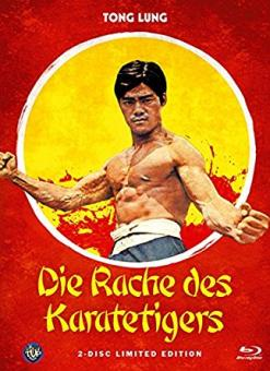 Die Rache des Karatetigers (Limited Mediabook, Blu-ray+DVD, Cover B) (1973) [FSK 18] [Blu-ray]