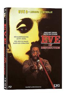 Eve 8 - Ausser Kontrolle (Limited Mediabook, Blu-ray+DVD, Cover C) (1991) [FSK 18] [Blu-ray]