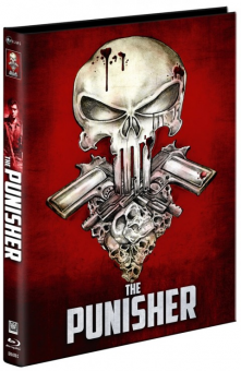 The Punisher (Limited Mediabook, Blu-ray+DVD, Cover C) (1989) [FSK 18] [Blu-ray]