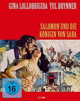 Salomon und die Königin von Saba (Limited Mediabook, Blu-ray+DVD, Cover B) (1959) [Blu-ray]