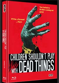 Children Shouldn't Play with Dead Things (Limited Mediabook, Blu-ray+DVD, Cover B) (1972) [FSK 18] [Blu-ray]