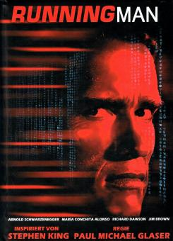 Running Man (Limited Uncut Mediabook, 3D Blu-ray+DVD) (1987) [FSK 18] [3D Blu-ray]