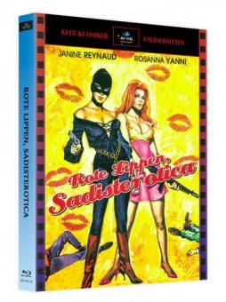 Sadisterotica - Rote Lippen (Limited Mediabook, Cover A) (1969) [FSK 18] [Blu-ray]