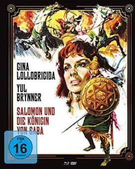 Salomon und die Königin von Saba (Limited Mediabook, Blu-ray+DVD, Cover A) (1959) [Blu-ray]