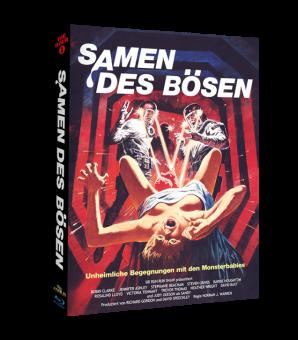 Samen des Bösen (Limited Mediabook, 2 Discs, Cover A) (1981) [FSK 18] [Blu-ray]