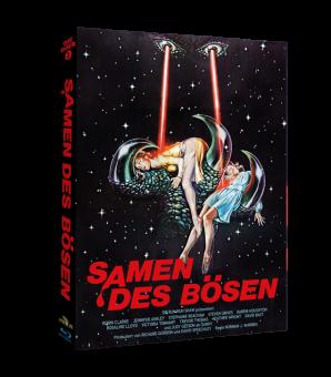 Samen des Bösen (Limited Mediabook, 2 Discs, Cover C) (1981) [FSK 18] [Blu-ray]