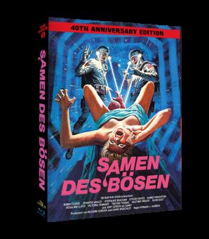 Samen des Bösen (Limited Mediabook, 2 Discs, Cover Wattiert) (1981) [FSK 18] [Blu-ray]