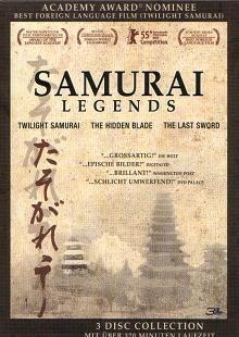 Samurai Legends (The Last Sword, The Hidden Blade, Twilight Samurai) (3 DVDs)