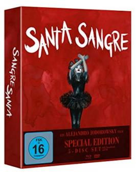 Santa Sangre (Special Edition, Blu-ray+3 DVDs+CD) (1989) [Blu-ray]