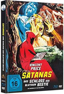 Satanas - Das Schloss der blutigen Bestie (Limited Mediabook, Blu-ray+DVD) (1964) [Blu-ray]