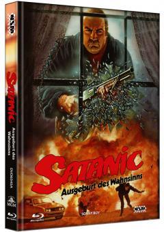 Satanic - Ausgeburt des Wahnsinns (Limited Mediabook, Blu-ray+DVD, Cover A) (1989) [FSK 18] [Blu-ray]