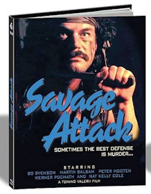 Brothers in Blood (Savage Attack) (Limited Mediabook, Cover B) (1987) [FSK 18] [Blu-ray]