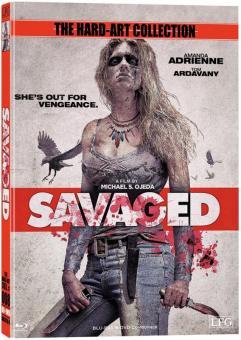 Savaged (Uncut Limited Mediabook, Blu-ray+DVD, Cover B) (2013) [FSK 18] [Blu-ray]