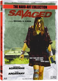 Savaged (Uncut Limited Mediabook, Blu-ray+DVD, Cover A) (2013) [FSK 18] [Blu-ray]