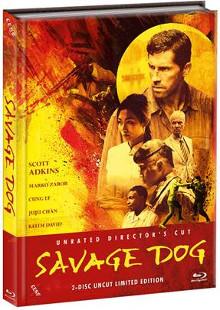 Savage Dog (Limited Mediabook, Blu-ray+DVD, Cover B) (2017) [FSK 18] [Blu-ray]