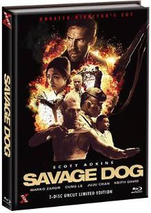 Savage Dog (Limited Mediabook, Blu-ray+DVD, Cover A) (2017) [FSK 18] [Blu-ray]