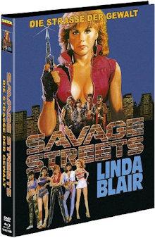Savage Streets - Straße der Gewalt (Limited Mediabook, Blu-ray+DVD, Cover B) (1984) [FSK 18] [Blu-ray]