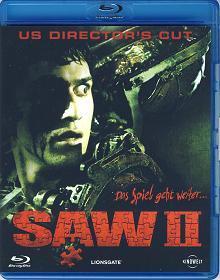 Saw II (US Director's Cut) (2005) [FSK 18] [Blu-ray]